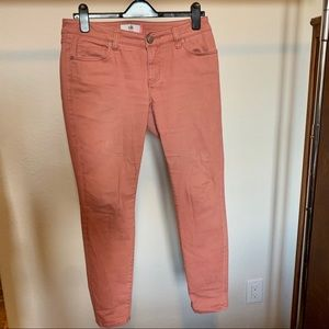 Cabi Brick Dust Skinny jeans (#5310) size 6